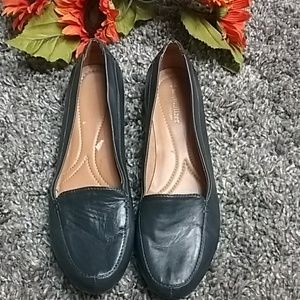 Naturalized leather flats 9